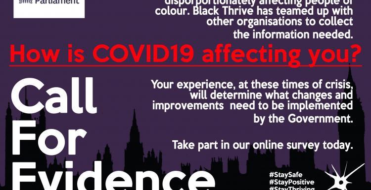 Black Thrive COVID survey