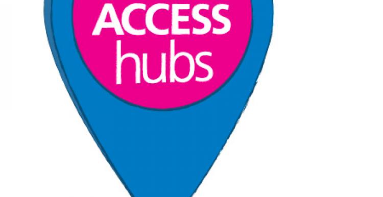 GP access hubs Lambeth logo