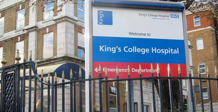 Kings college hospital sign