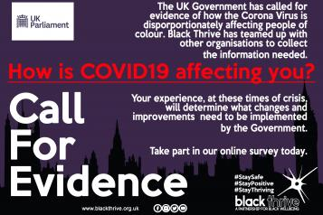 Black Thrive COVID survey