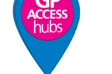 GP access hubs Lambeth logo