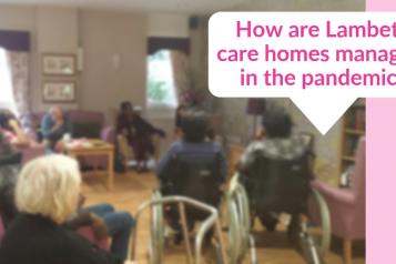 How are lambeth care homes managing webinar