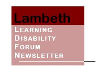 Lambeth Learning disability assembly Newsletter logo