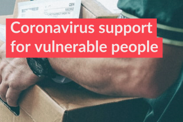 Coronavirus support for vulnerable people