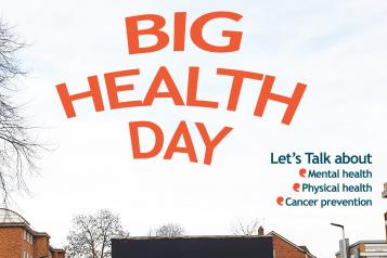 big health day lambeth banner