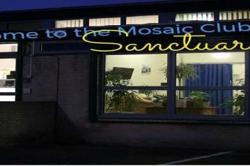 Healthwatch Lambeth mosaic clubhouse sanctuary