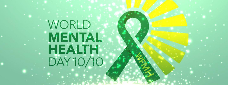 logo for world mental health day 2021