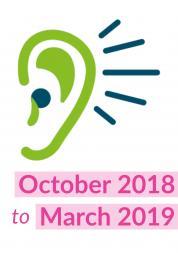 an ear listening